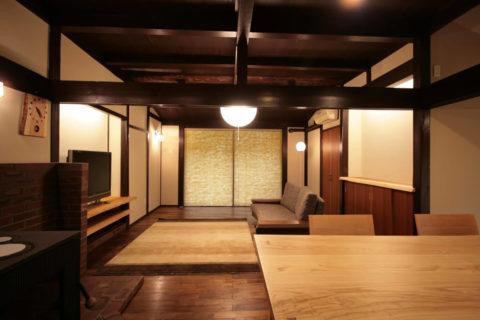 江戸時代末期の古民家を再生